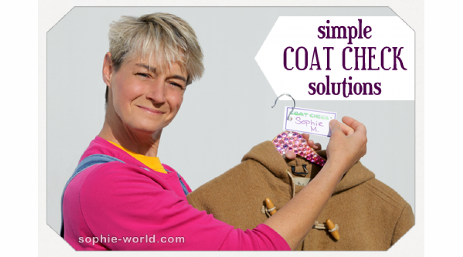 Coat Check Solutions|sophie-world.com