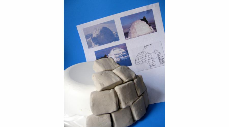 clay igloos from education.com