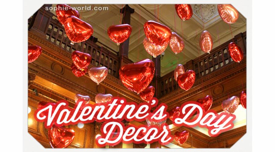 Valentine's Day Decor|sophie-world.com